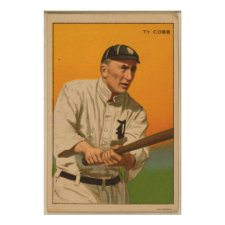Tyrus Raymond Cobb, Detroit Tigers Poster