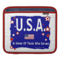 U.S.A. - iPad Rickshaw Sleeve Sleeves For Ipads