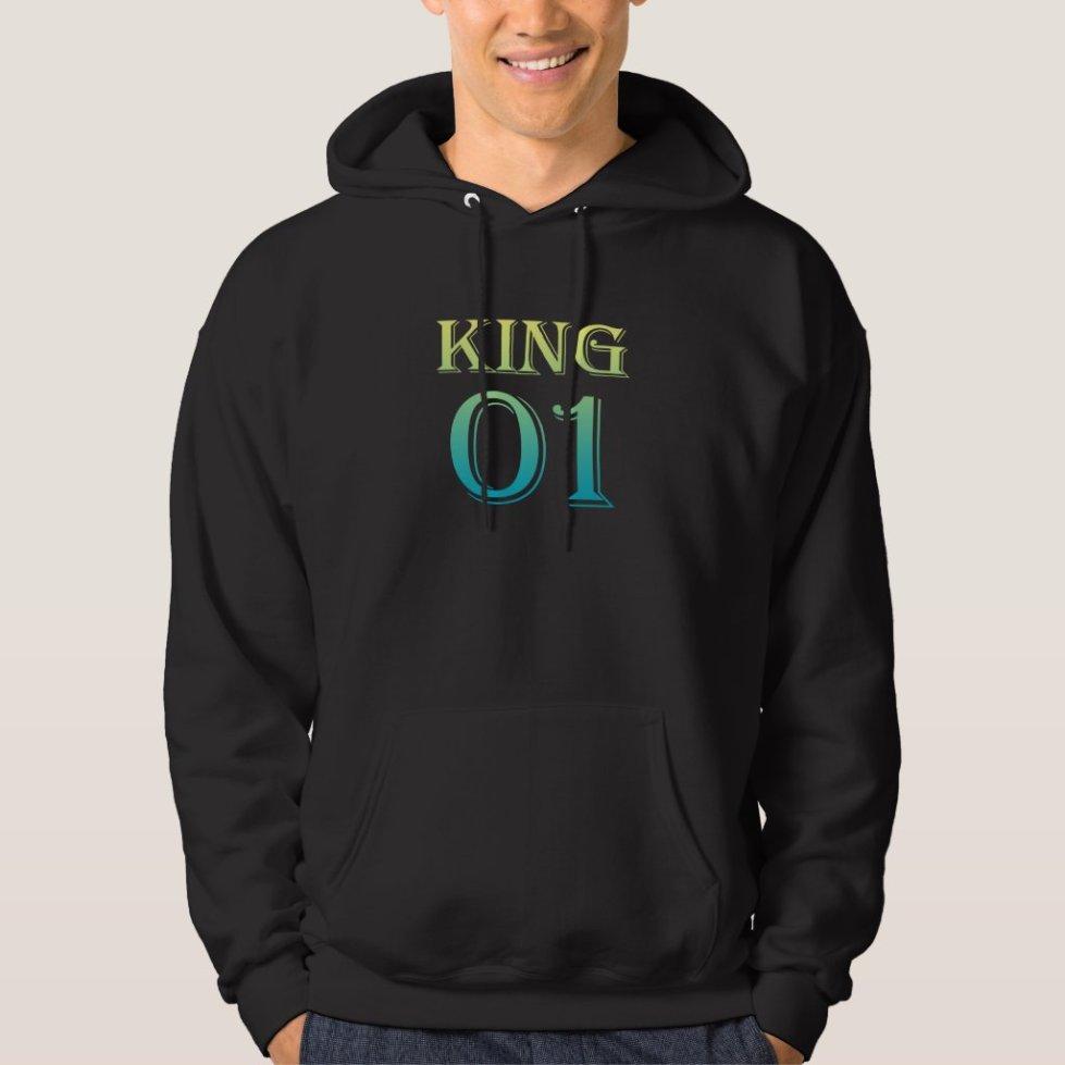 Ultramarine King 01 Hoodie