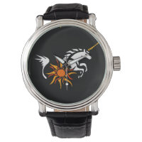 Unicorn Art Abstract Watch