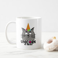 UNICORN AT HEART (CATICORN) MUG