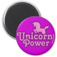Unicorn Power! Magnet