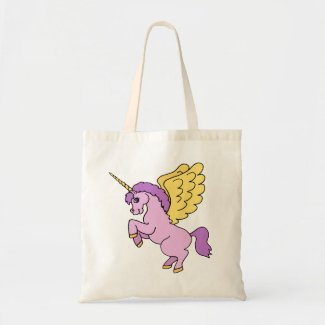 Unicorn Rainbow Pattern Bag