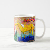 Unicorn Sky Horse Coffee Mug