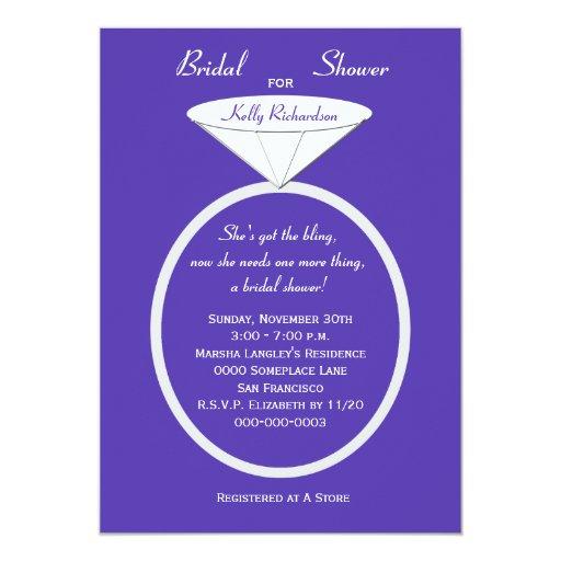 Unique Bridal Shower Invitations Ideas