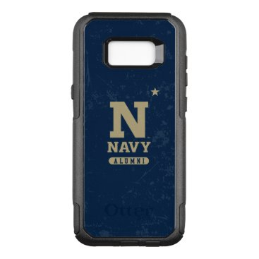 United States Naval Academy Alumni Distressed OtterBox Commuter Samsung Galaxy S8  Case