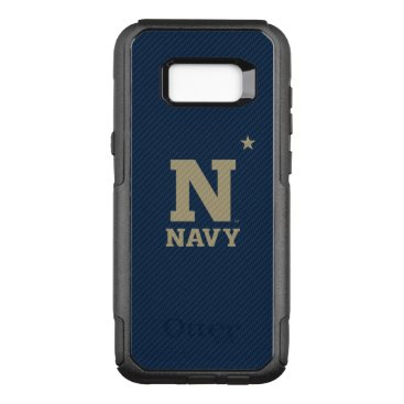 United States Naval Academy Carbon Fiber Pattern OtterBox Commuter Samsung Galaxy S8  Case