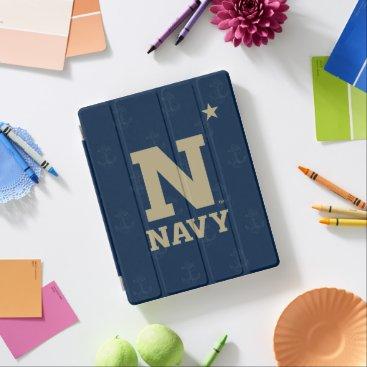 United States Naval Academy Logo Watermark iPad Smart Cover