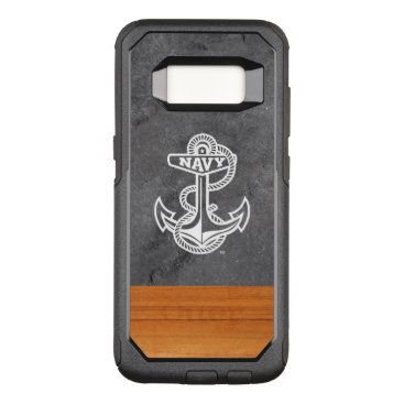 United States Naval Academy Slate & Wood OtterBox Commuter Samsung Galaxy S8 Case