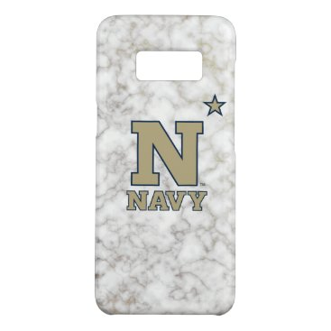 United States Naval Academy White Marble Case-Mate Samsung Galaxy S8 Case