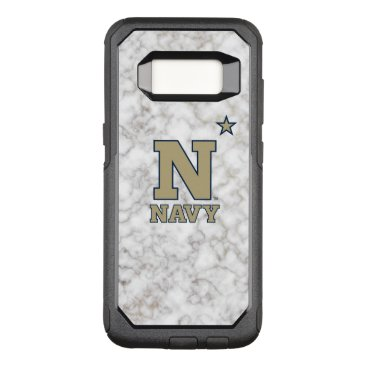 United States Naval Academy White Marble OtterBox Commuter Samsung Galaxy S8 Case