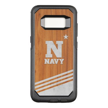 United States Naval Academy Wood Cement Logo OtterBox Commuter Samsung Galaxy S8 Case