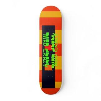 Unusual Skateboard Deck 15 Mad Crazy Design