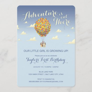 UP Birthday   Adventure is Out There Invitation