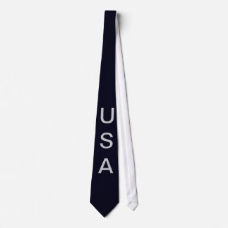 USA American Flag Men's Tie 7 CricketDiane Designs