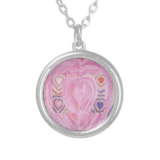 Valentine Heart Necklace by Julia Hanna