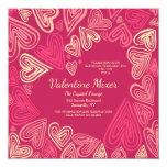 Valentine Hearts Invitation