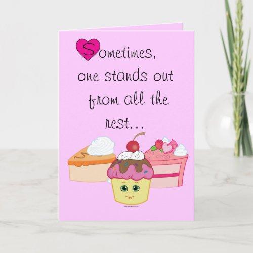 Valentine Sweet Shoppe Teacher's Card