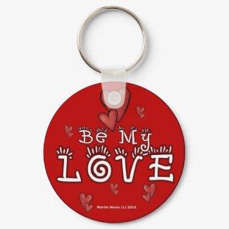 Valentine's Day Keychain (1b) keychain