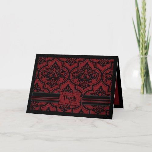 Vampire Bride TY Card