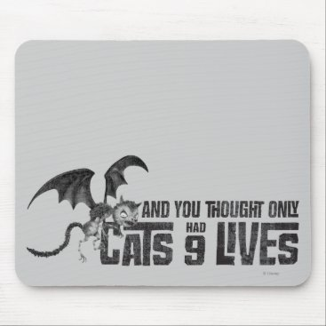 Vampire Cat: And You Thought Only Cats Had 9 Lives Mouse Pad