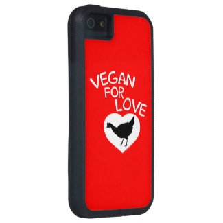 Vegan for Love iPhone 5 Cases