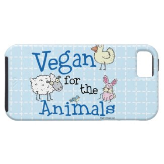 Vegan for the Animals iPhone 5 Covers