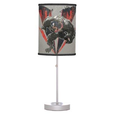 Venom Ink And Grunge Desk Lamp