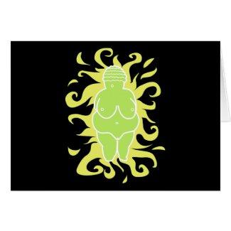 Venus of Willendorf card