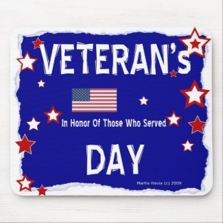 Veteran's Day - In Honor - Mousepad
