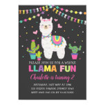 ❤️ Vibrant Llama Birthday Party Whole Llama Fun Invitation