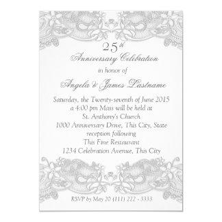 25th Wedding Anniversary Invitations Wording Like Success