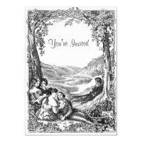 Victorian Picnic Card