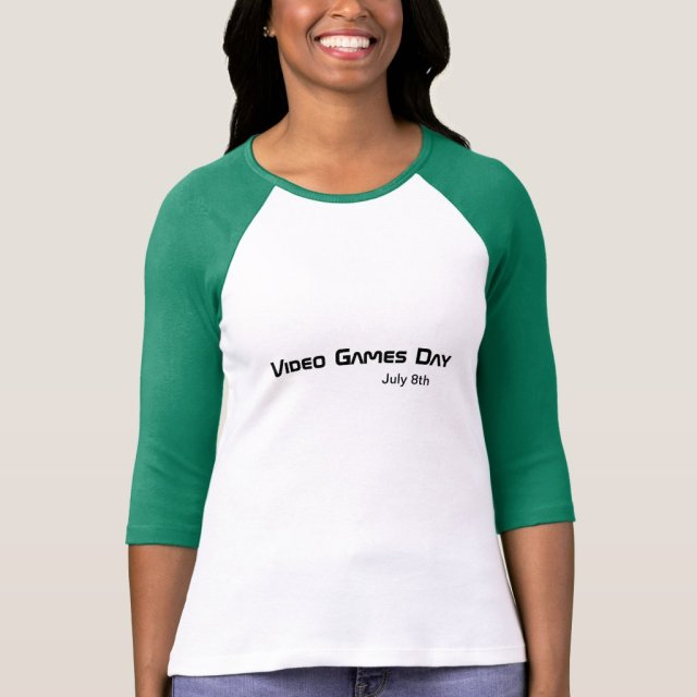 Video Games Day T-Shirt