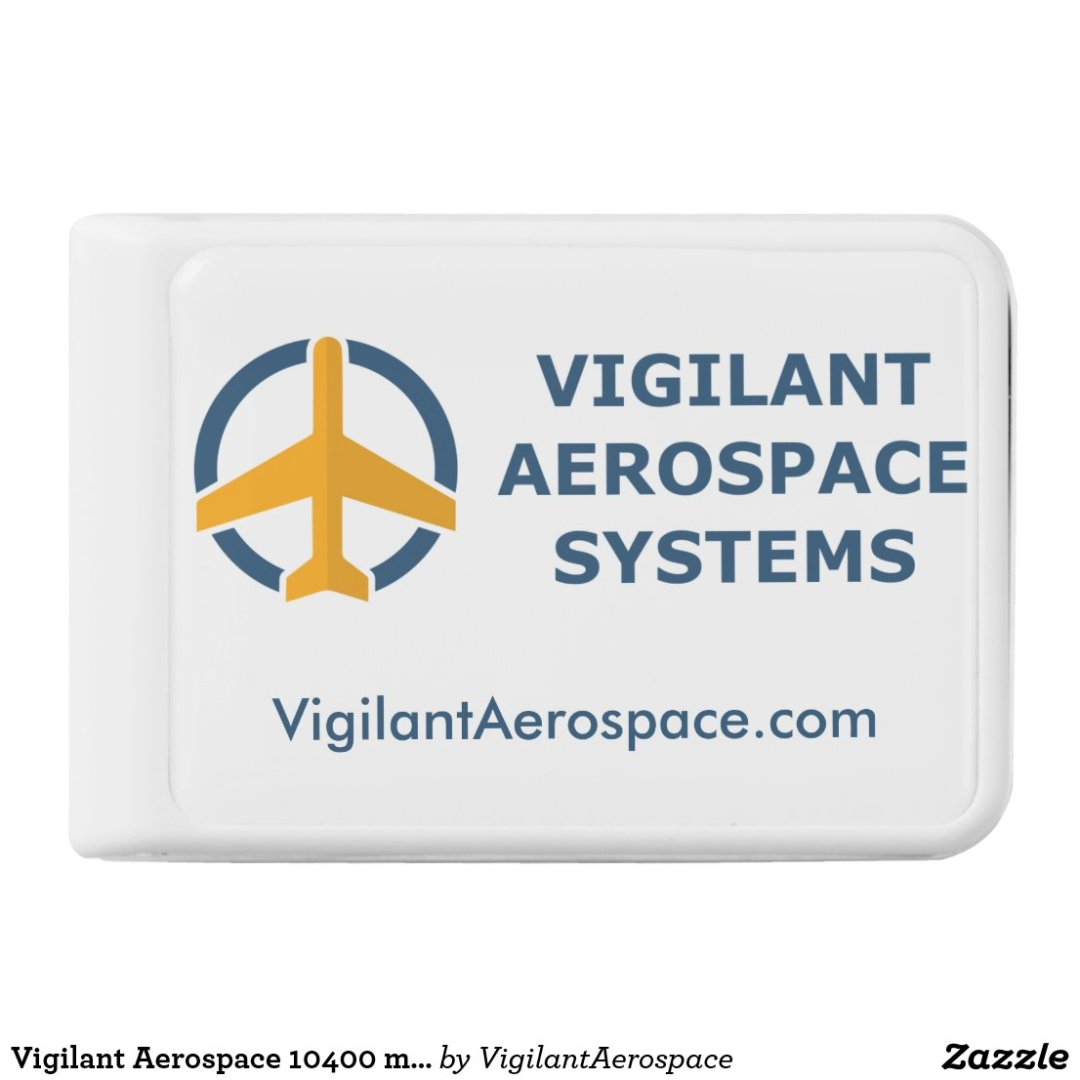 Vigilant Aerospace 10400 mAh Mobile Power Bank