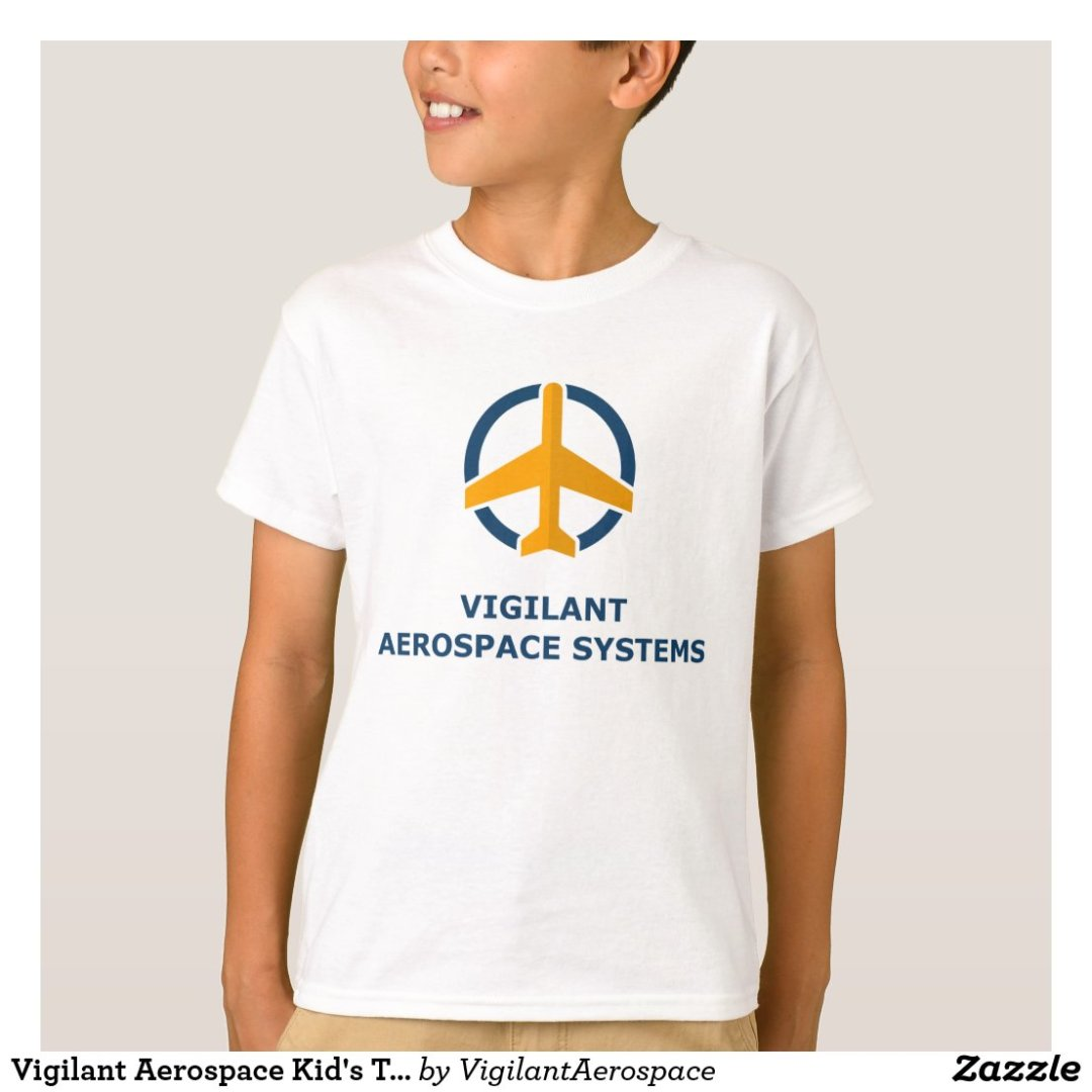 Vigilant Aerospace Kid's T-shirt