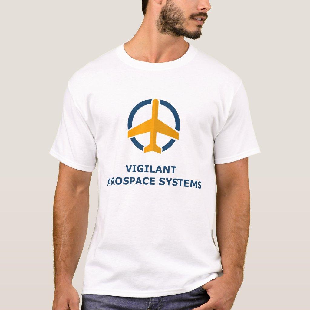 Vigilant Aerospace Men's T-shirt
