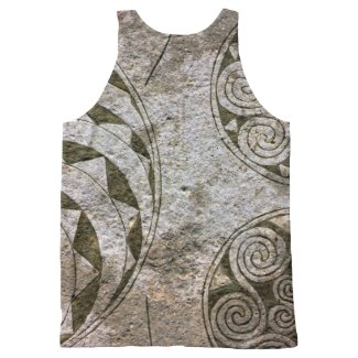 Viking Swirls All-Over Print Tank Top