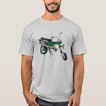 Vintage 1970's Mini Bike Trail 70 Green T-Shirt