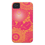 Vintage Abstract Floral Pattern casemate cases