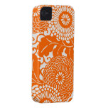 Vintage Abstract Floral Pattern iPhone covers casemate cases