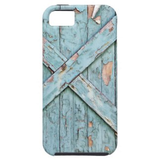Vintage - Blue Weathered Paint iPhone 5 Case