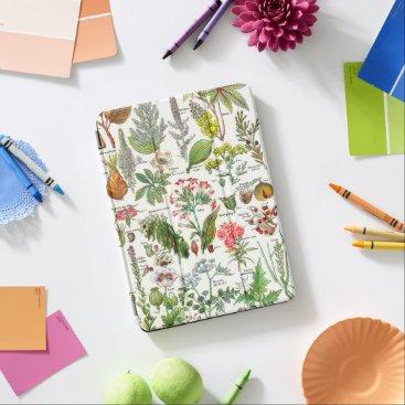 Vintage Botanical Illustrations iPad Pro Cover
