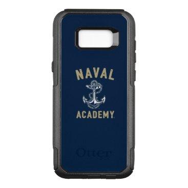 Vintage Gold Naval Academy Anchor OtterBox Commuter Samsung Galaxy S8  Case