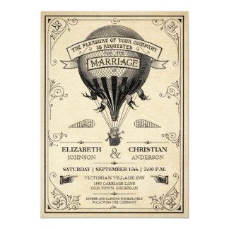 Steampunk Inspired Wedding Invitations