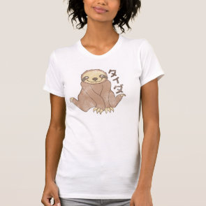 Vintage Kawaii Sloth T-shirt