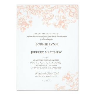 The Burlap Lace Wedding Collection Invitations