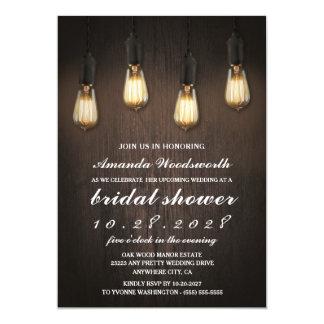 Bridal Shower Western Cow Monogram Printable Invitation 5x7 Wedding Baby