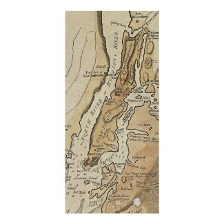 Vintage Manhattan Map (1781) Posters