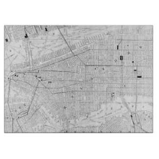 Vintage Map of New York City (1911) Cutting Board